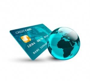 carta di credito, mondo, pianeta, internazionale